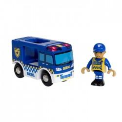 Camion de police son & lumière
