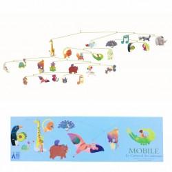 Mobile Carnaval des animaux