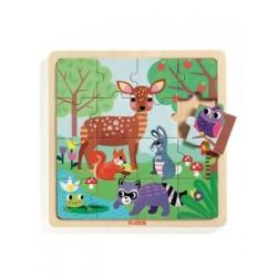 Puzzle bois Forest 16 pcs