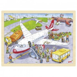 Puzzle 96pcs aéroport
