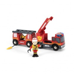 Camion des pompiers son et...