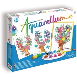 Aquarellum Cerfs enchantés