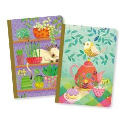 Duo petits carnets Marie -...