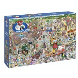 Puzzle 1000pcs - I love...