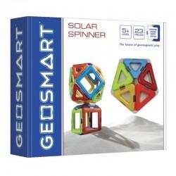 Geo smart solar spinner