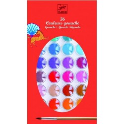 Gouaches 36 couleurs