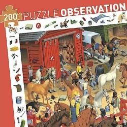 Puzzle 200p équitation