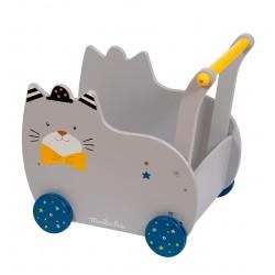 Chariot de marche chat...