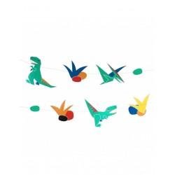 Guirlande Dinosaures