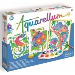 Aquarellum zentangle