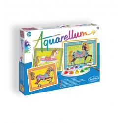 Aquarellum chevaux en parade