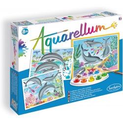 Aquarellum les dauphins