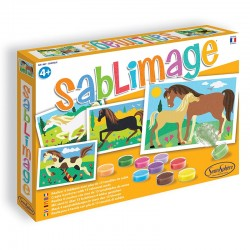 Sablimage chevaux