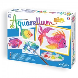 Aquarellum junior poissons