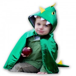 Dragon toddler cape 2/3 ans
