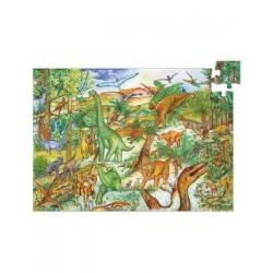 Puzzle 100p dinosaures