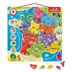 Puzzle France magnétique 93...