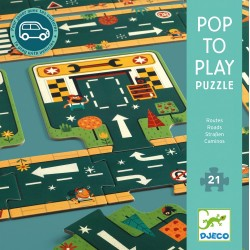 Pop to play - Routes 21 pièces