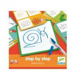 Apprendre à dessiner Step...