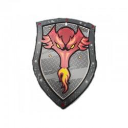 Bouclier Dragon rouge