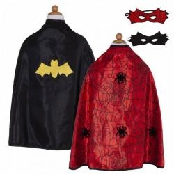 Reversible Spider/Bat Cape