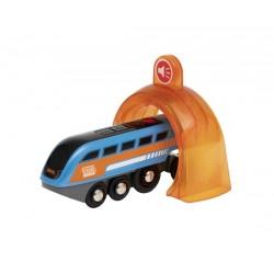 Locomotive à enregistreur...