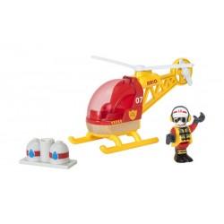 Hélicoptère des pompiers