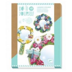 Miroirs DIY - Douceur florale