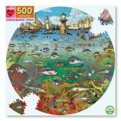 Puzzle 500pcs Eeboo- Fish &...