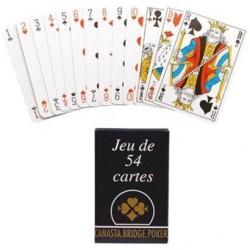 54 Cartes Françaises - étui...