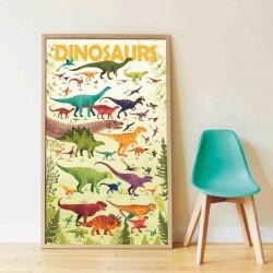 Poster à décorer Dinosaures