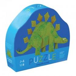 12 pc Mini Puzzle/Dino