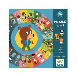 Puzzle géant - La journée...