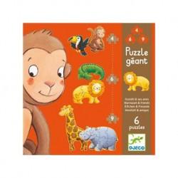 Puzzle géant 4/6/9 pcs...