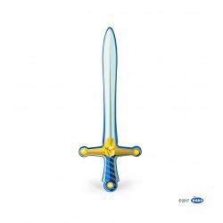 Epée chevalier Lion bleue
