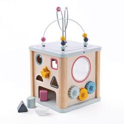 Cubes d'activités en bois