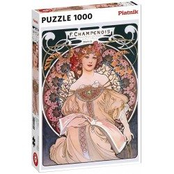 Puzzle 1000pcs Mucha Dreams