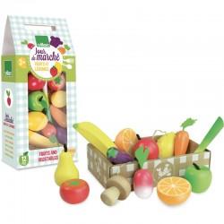 Jour de marché - Fruits et...