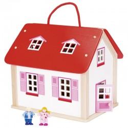 Valise maison de poupée...
