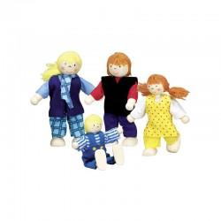 Famile moderne, poupées...