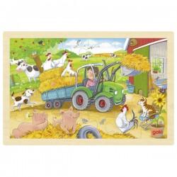Puzzle 24 pcs - Petit tracteur