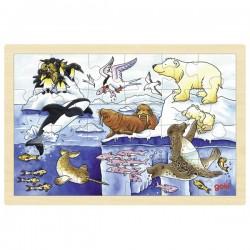 Puzzle 24 pcs - Animaux...