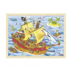 Puzzle 96 pcs - Pirates