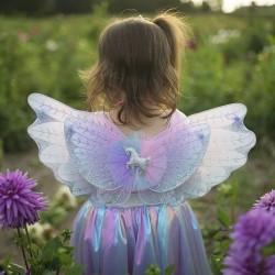 Set jupe & ailes licorne