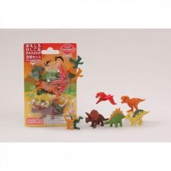 Set de gommes dinosaures