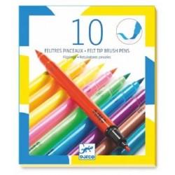 10 FEUTRES PINCEAUX POP