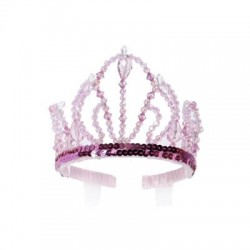 Couronne Pink Beauty Tiara