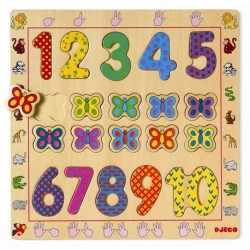 Puzzle Educatif - 1 - 10