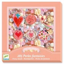 Perles - coeurs