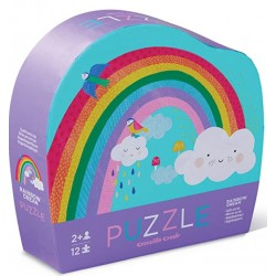 12 pc Mini Puzzle/Rainbow